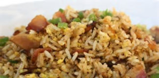 Fried-Rice-with-Low-Sodium-Bacon