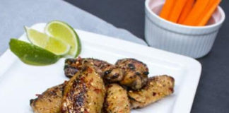Honey-Baked-Chicken-Wings