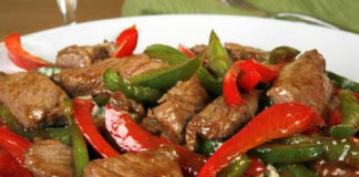 Spicy-Southwest-Beef-and-Peppers-Over-Beefy-Rice