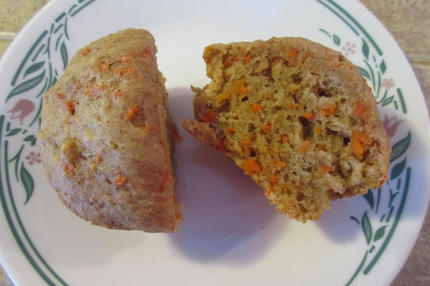 Carrot Cake Applesauce No Sugar