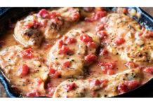 herbed-italian-chicken-tomatoes-pasta