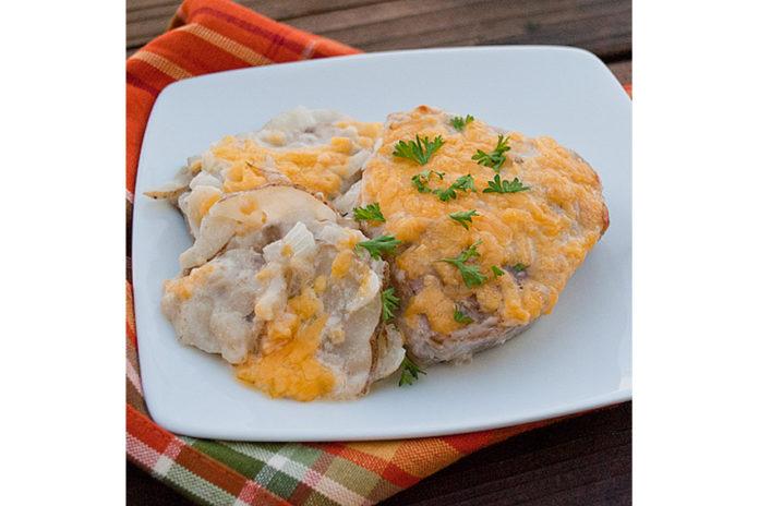 pork-potato-bake