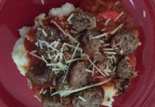 garlic-mashed-potatoes-italian-sausage-sauce