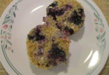 blueberry-applesauce-mug-muffin