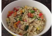 colorful-fresh-veggie-pasta-salad