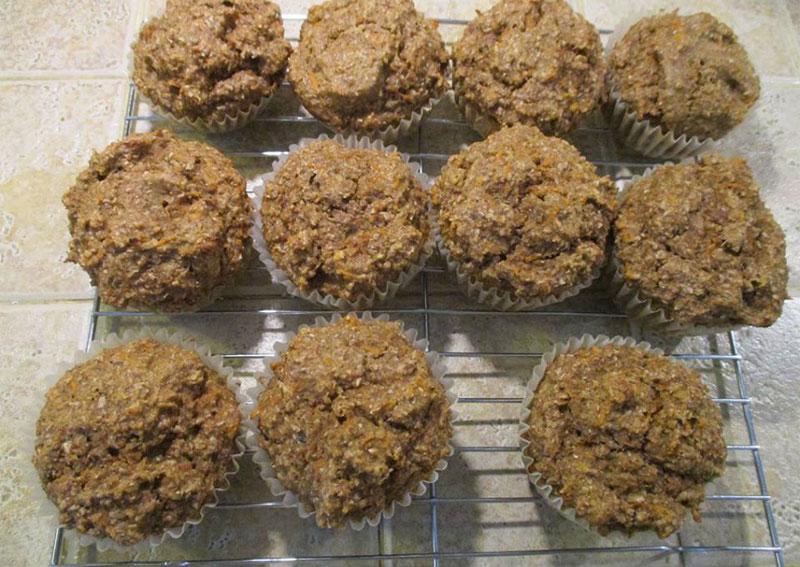 Carrot Bran Muffins - Skip The Salt - Low Sodium Recipes